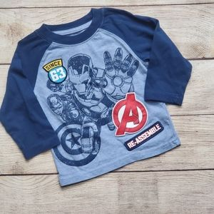 Marvel Avenger Age of Ultron Long-sleeved T-shirt